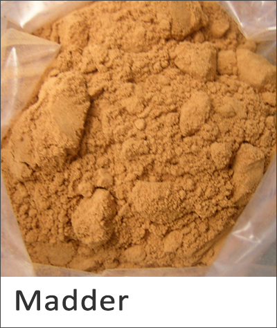Madder natural dye