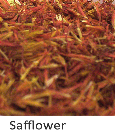 Safflower natural dye