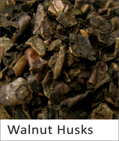 Walnut Husks Natural Dye