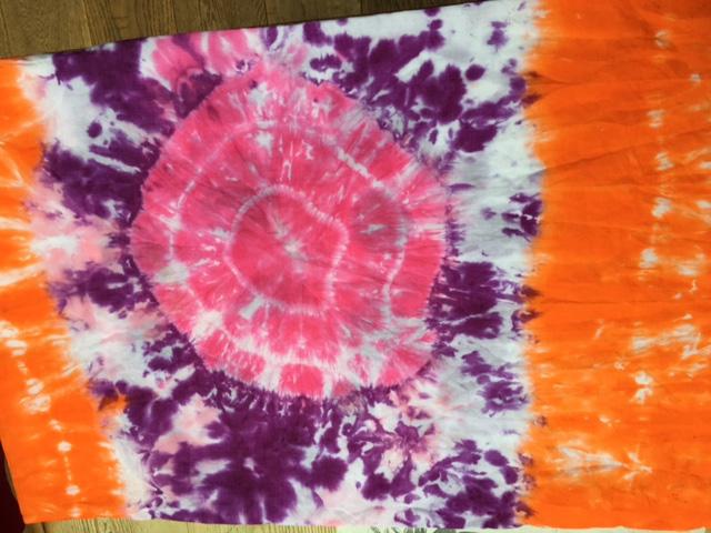 Tie-dye Pillowcase Project
