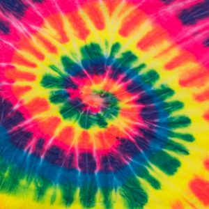 Tie dye with 3 colours