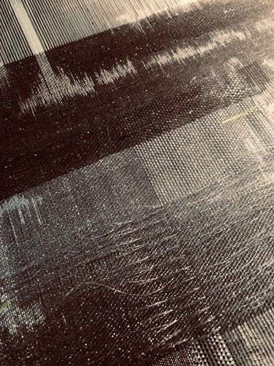 Andrea Dawson's woven cloth