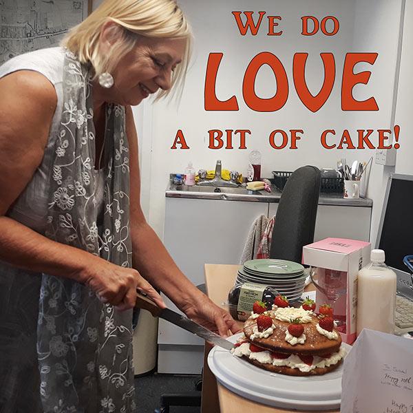 Susan's birthday cake!