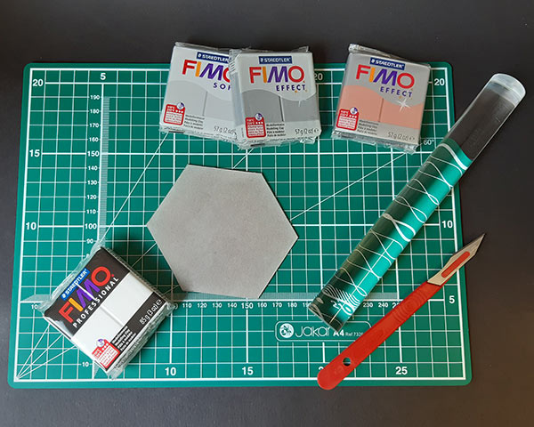 FIMO polymer clay and tools