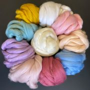 Merino Wool Pastel shades