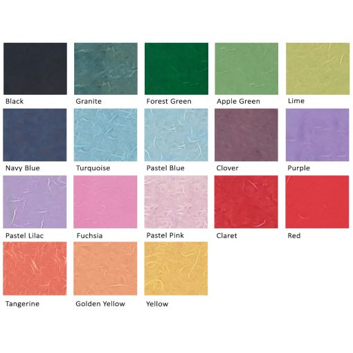 Coloured Mulberry Tissue Paper
