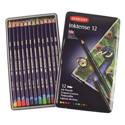 Derwent Inktense Pencil Tin of 12