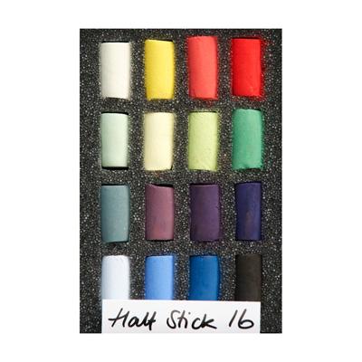 Unison Colour Soft Pastels - Half Stick Set 16