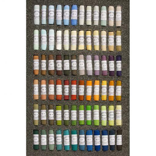Unison Colour Soft Pastels Landscape Set 72