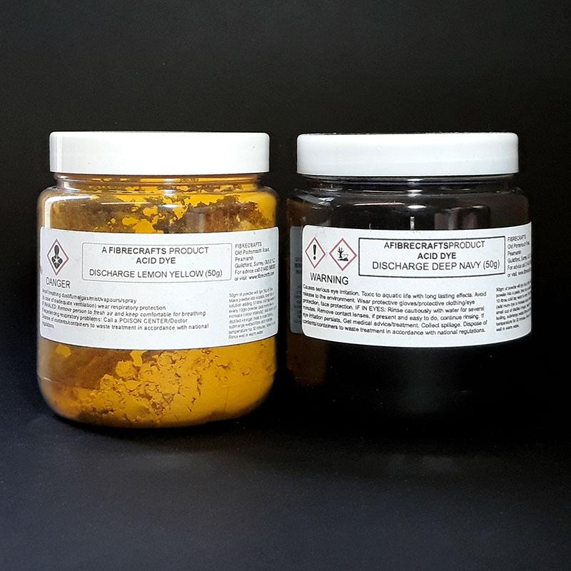 Fibrecrafts Discharge Acid Dyes, 50g