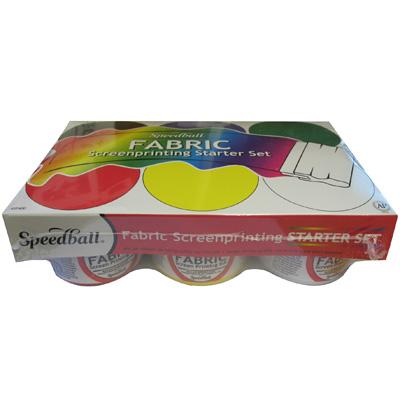 Speedball Fabric Screenprinting Starter Set