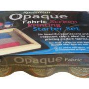 Opaque Fabric Screen Printing Starter Set