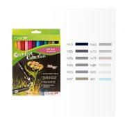 Tombow ABT Dual Brush Pen Set - 12 Greys