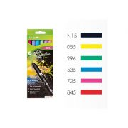 Tombow ABT Dual Brush Pen Set - 6 Primary Colours