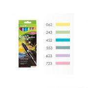 Tombow ABT Dual Brush Pen Set - 6 Pastel Colours