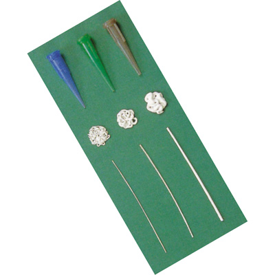 Art Clay Silver Syringe Tips, 3 sizes