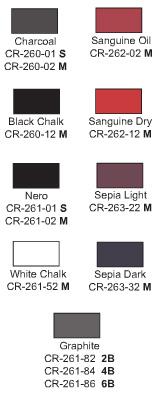 Cretacolor 5mm Leads, assorted