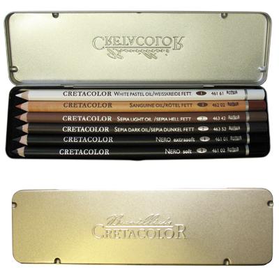 Cretacolor Oil Pencil Drawing Set
