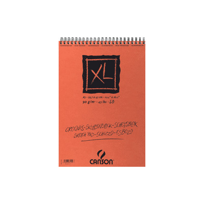 Canson XL Spiral Sketch Pads, 60 sheets