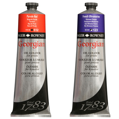 Georgian Oil Colours, 225ml