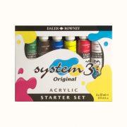System 3 Original Starter set 6 x 22ml