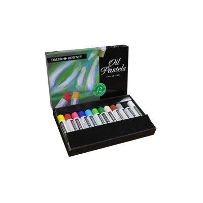 Daler Rowney Artists Oil Pastel - set 12