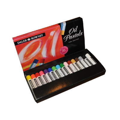 Daler Rowney Artists Oil Pastel - set 16