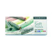 Daler Rowney Soft Pastels set - 8 Dark