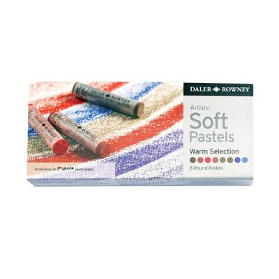 Daler Rowney Soft Pastels set - 8 Warm