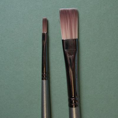 Cryla Long Handle Flat Brush C25 Brushes
