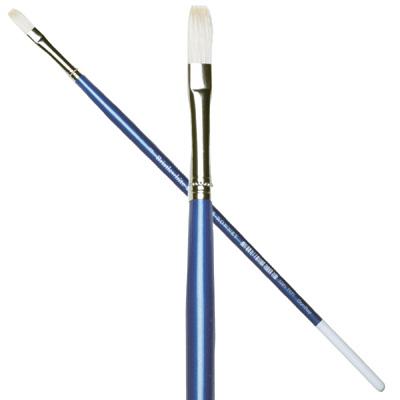 Bristlewhite Long Flat Brushes series B48