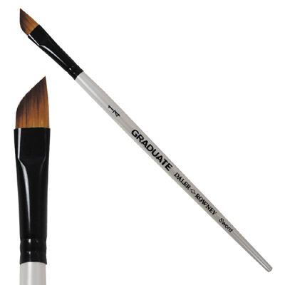 Graduate Synthetic Brush Sword 1/4in