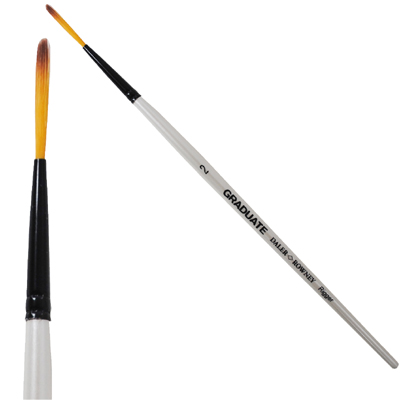 Graduate Synthetic Rigger Brushes