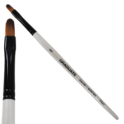 Graduate Synthetic Filbert Brushes