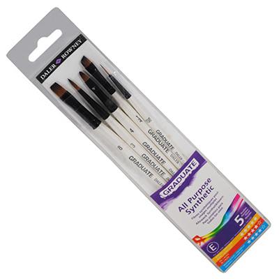 Graduate Synthetic Selection 5 Brush set