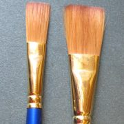 Sapphire One Stroke Flat Wash Brushes S21