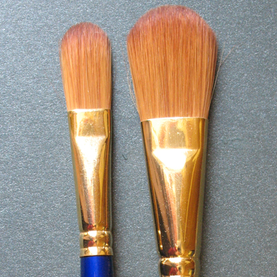 Sapphire Oval Brushes S52