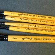 System 3 Brush Selection 5 set