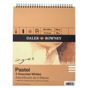 Ingres Artists' Pastel Paper, assorted whites