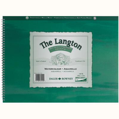 Langton Watercolour Spirals NOT Surface 300gsm