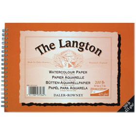 Langton Watercolour Spirals NOT Surface 425gsm