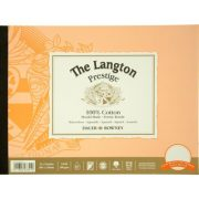 Langton Prestige 100% Cotton Pads Hot Pressed surface
