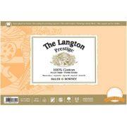 Langton Prestige 100% Cotton Blocks Hot Pressed Surface
