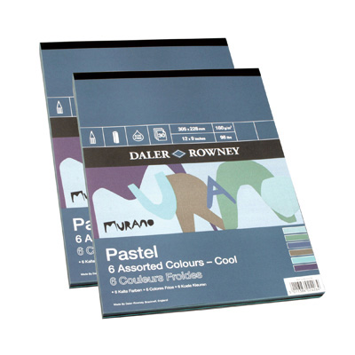 Murano Pads - Cool Pastel Colours