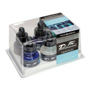 FW Artists Acrylic Ink Pearl Effect set 6