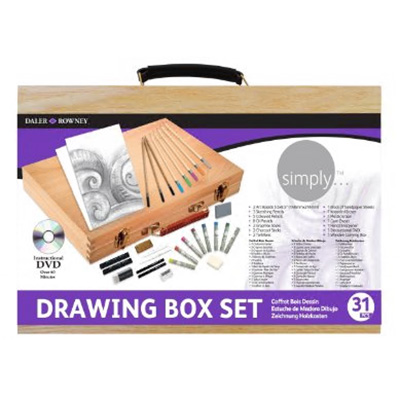 Daler Rowney Simply Drawing Wooden Box
