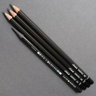 Graphic Designer 4 Pencil Wallet