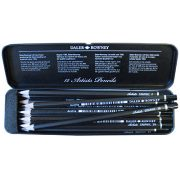 Daler Rowney 12 Artists Graphic Pencils Tin