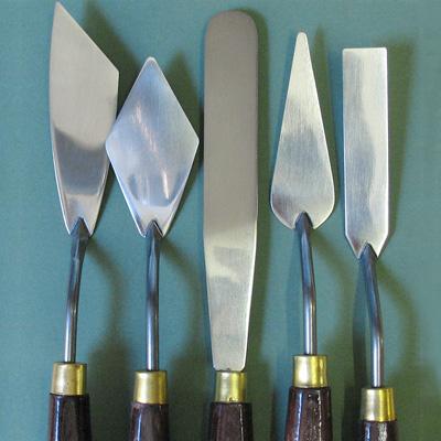 Palette Knife- Cranked Blade - No 2080
