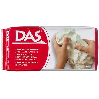 DAS Modelling Clay White, 3 sizes